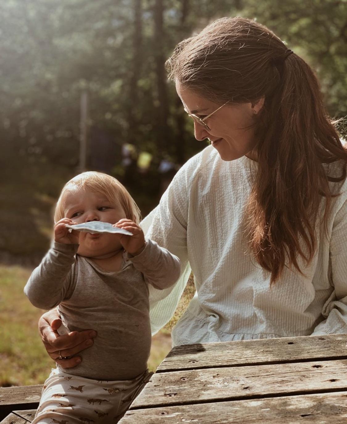 Melis, kvinden bag Haps Nordic og datteren Sui