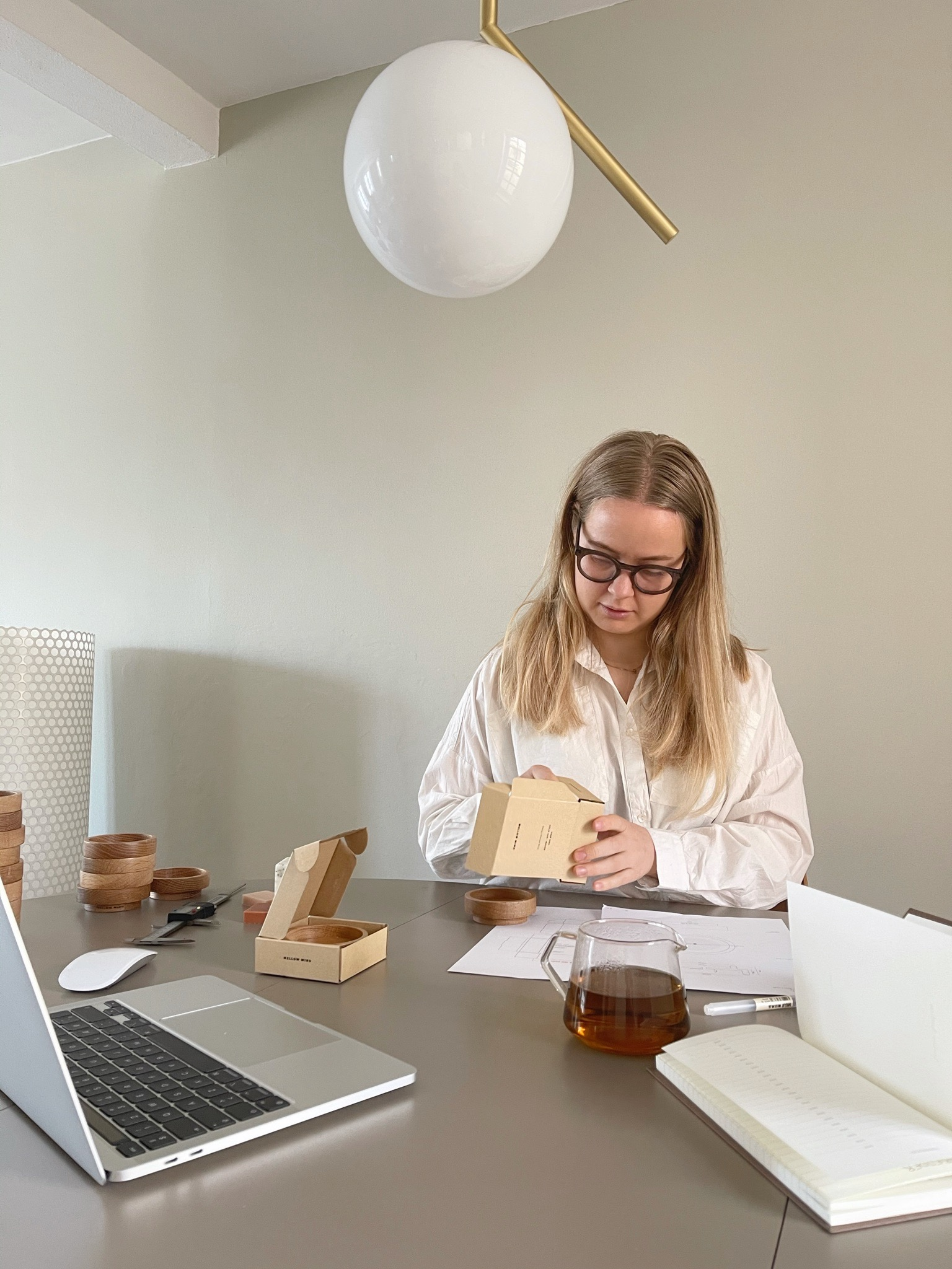 Maris Grønborg bruger sin iPhone til at skabe overblik